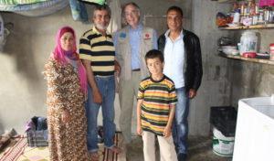 Visite de Alain Boinet fondateur au Liban 2015
