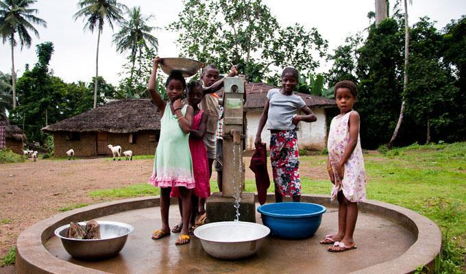 aide humanitaire Liberia