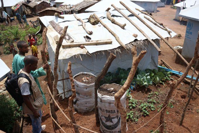 jardin réfugiés cameroun