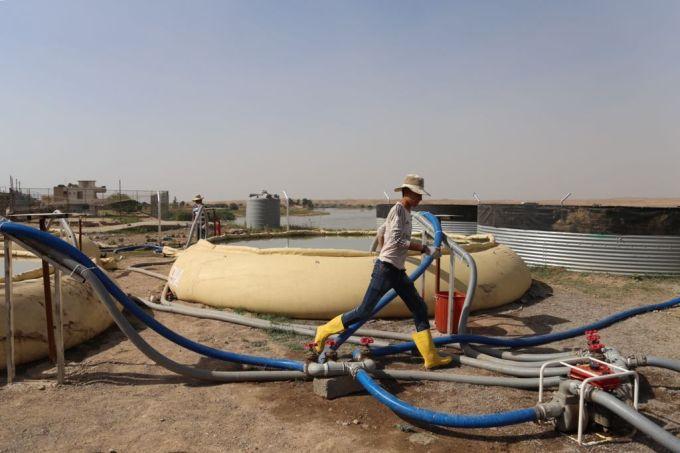 Irak Mossoul station eau