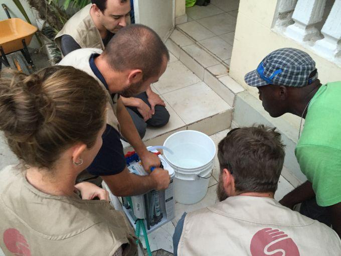 Matthew Griffaid haiti centre de sante