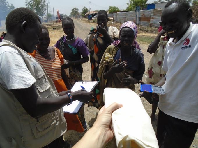 Soudan du Sud Malakal town-Pure distribution
