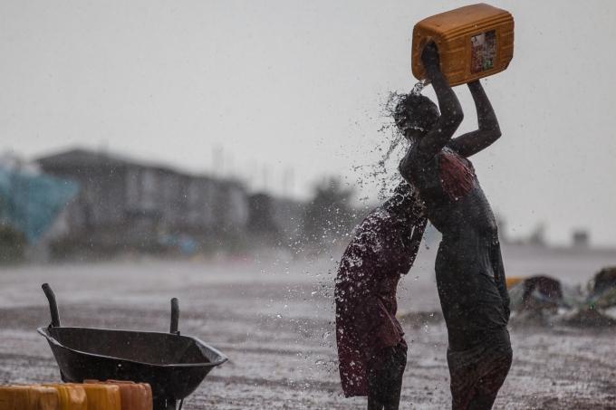 Soudan du Sud jerrican eau