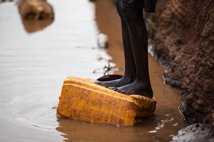 Soudan du Sud refugies camp assainissement