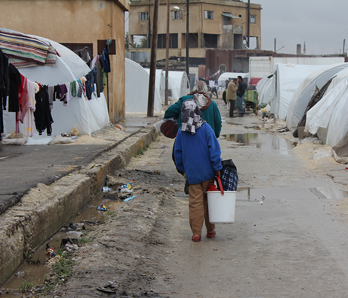 distrib camps syrie
