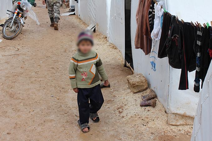 enfant camps syrie