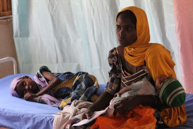 famine nigeria centre de sante