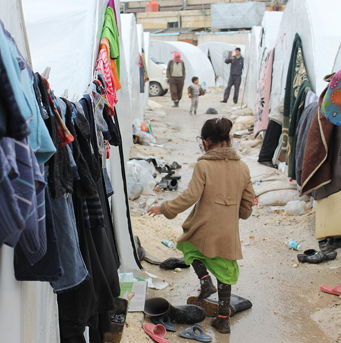petite fille camps syrie