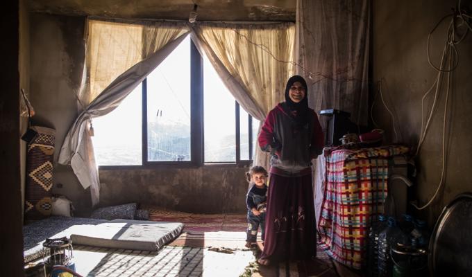 Liban camps informels