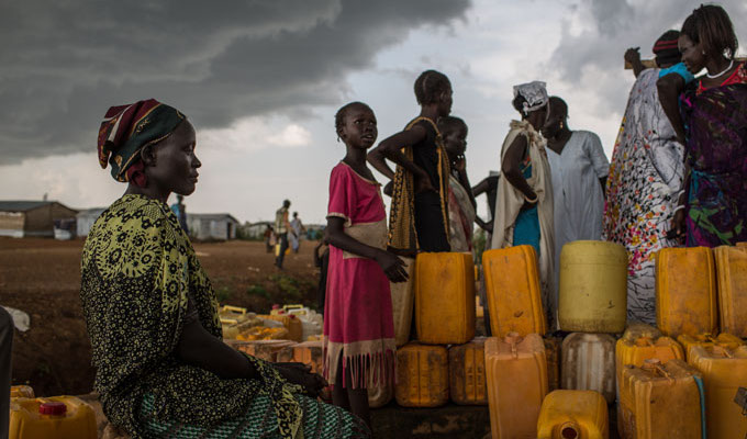 south sudan water