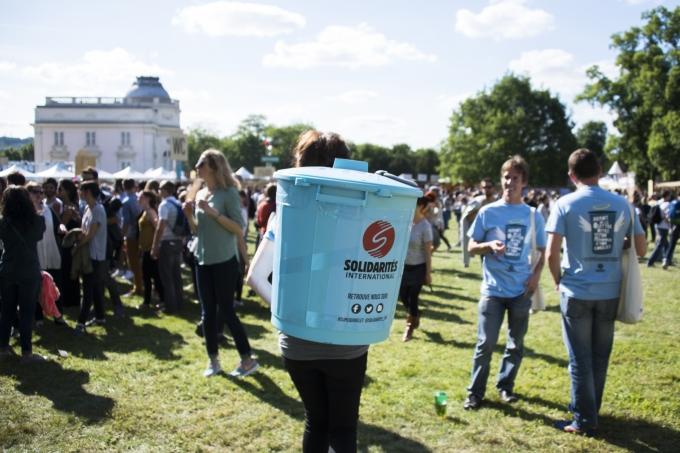 ecocup Solidarités International festival