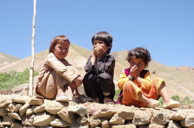 bamyan afghanistan enfants