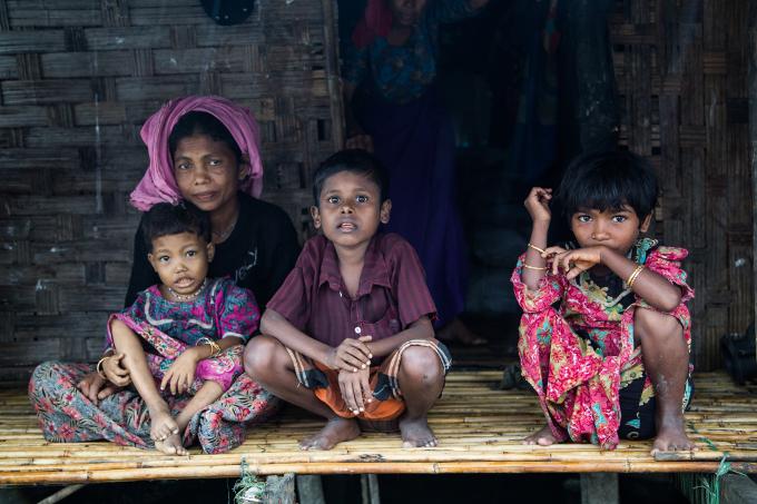 myanmar rohynigas famille