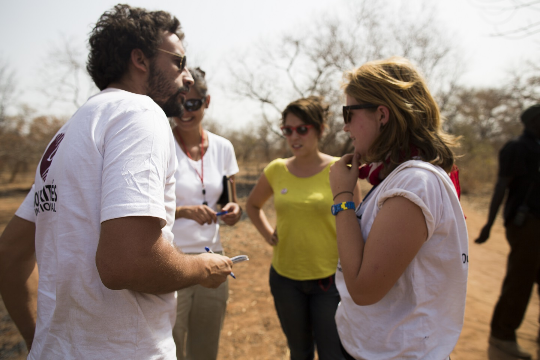 équipe Sud Soudan Solidarités International