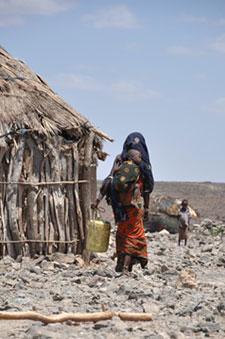 femme enfant kenya