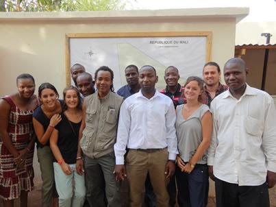 Photo équipe Mali
