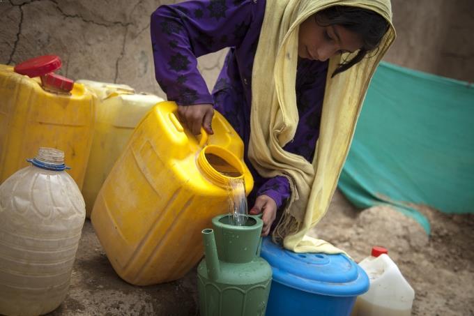 réfugiée Khost Afghanistan