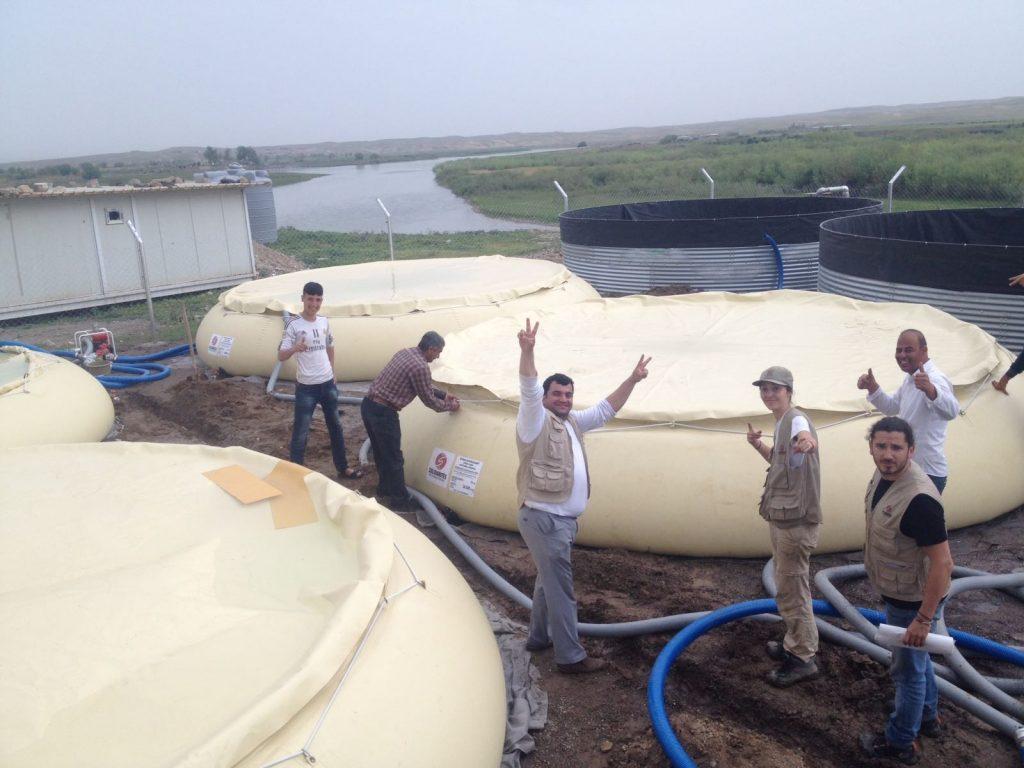 irak station eau