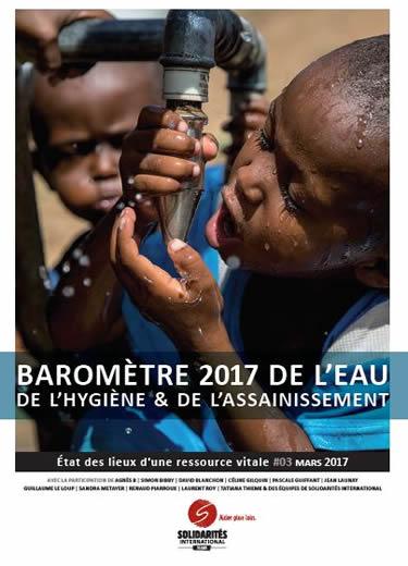 Baromètre de l'eau l'hygiene et l'assainissement 2017
