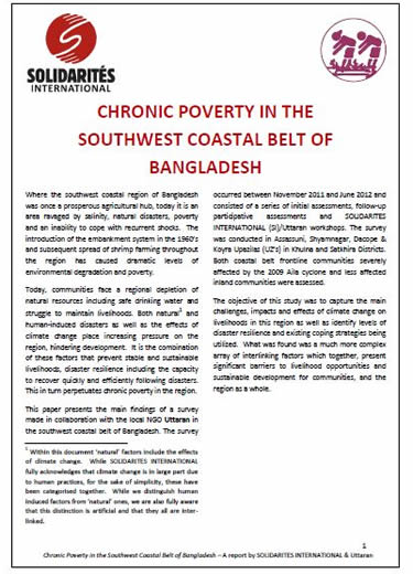 Chronic Poverty Research Centre