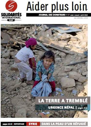 Donors' magazine n° 87