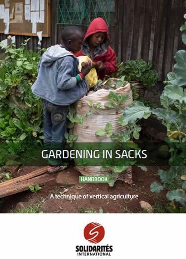Gardening in sacks