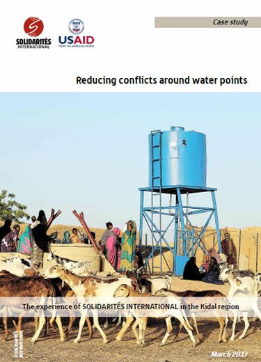 Reducing conflicts around water points in Kidal, Mali