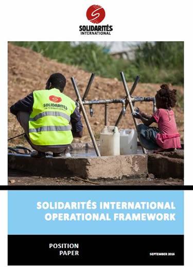 Solidarités International operational framework