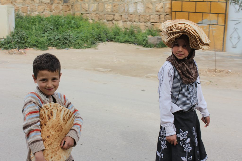 syrie enfants alimentation