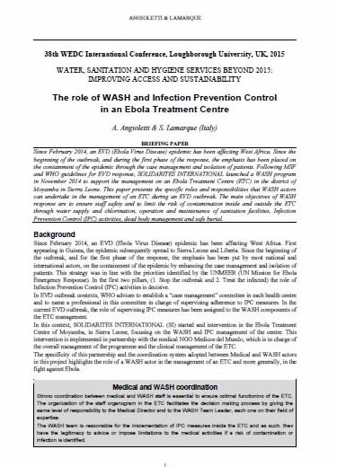 ebola and the role of international The review committee on the role of the international health regulations (2005) in the ebola outbreak and response consists of experts with a broad mix of scientific expertise and practical experience in public health, security, law and trade.