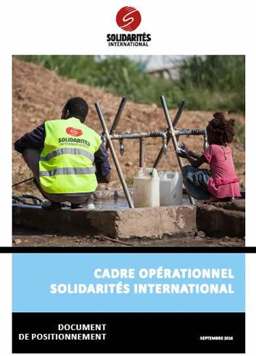 cadre opérationnel solidarités international