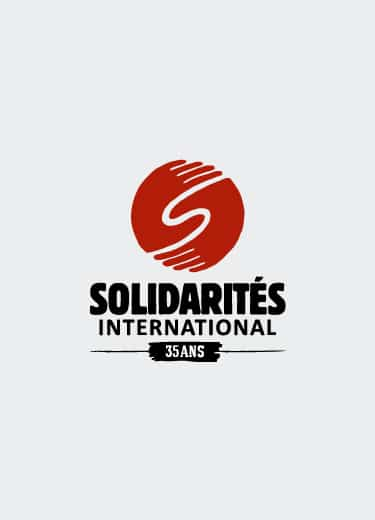 logo solidarités international 35 ans