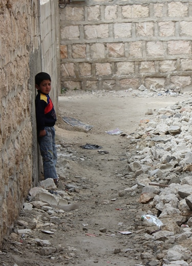 syrie ienfant rue