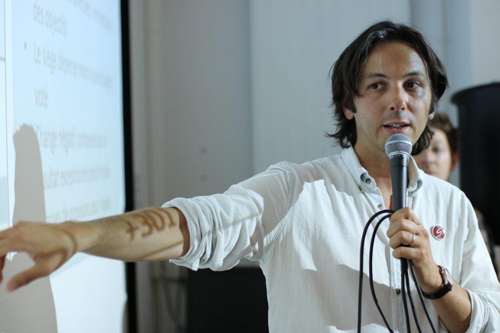 Frédéric Bos Trésorier