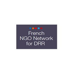 Logo French NGO Network for DRR