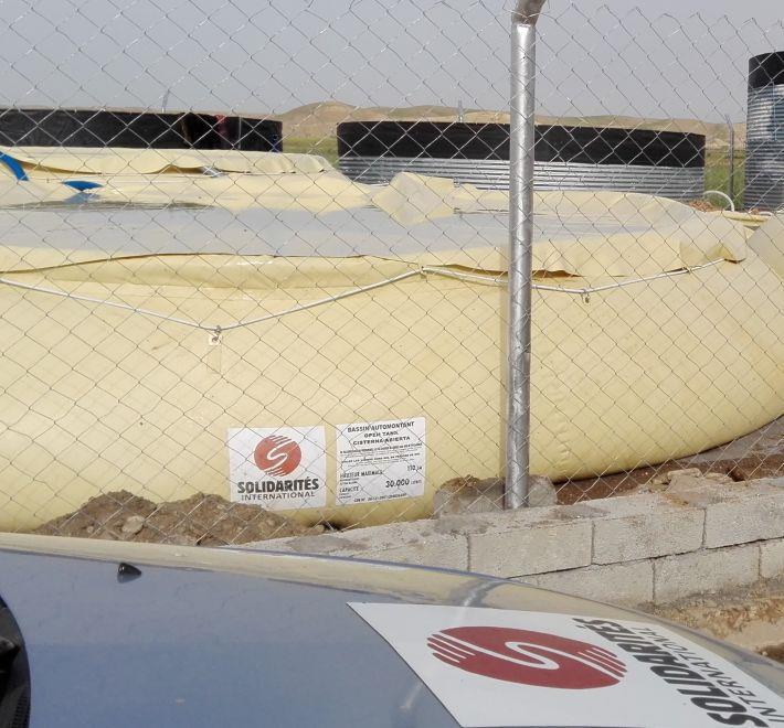 Station traitement Hamam Al Alil Irak Mossoul