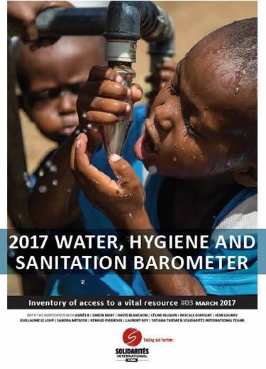 water hygiene and sanitation barometer SOLIDARITES INTERNATIONAL