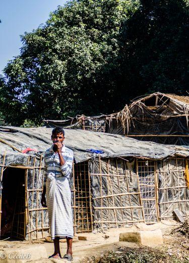 Un réfugiés Rohingya au Bangladesh