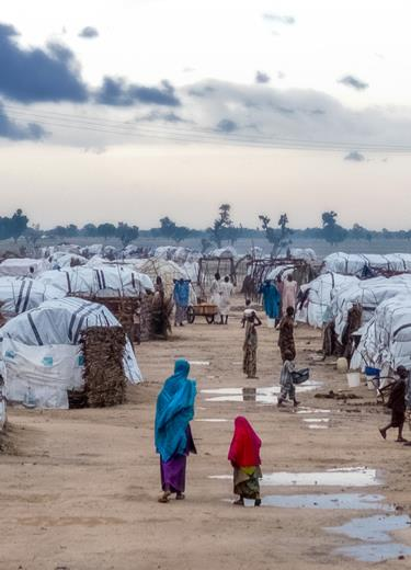 nigeria camp refugies