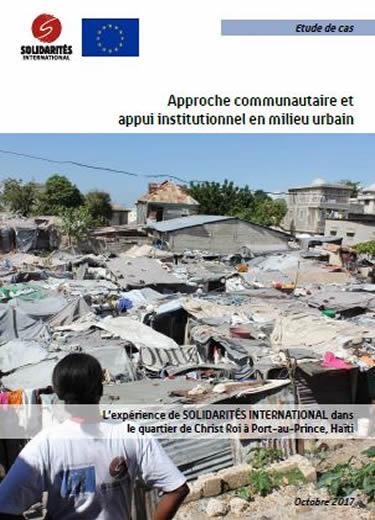 Approche communautaire et appui institutionnel en milieu urbain en Haïti