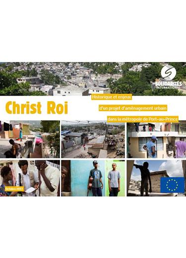 Haïti – Historique et enjeux d'un projet d'aménagement urbain dans la métropole de Port-au-Prince – Christ-Roi