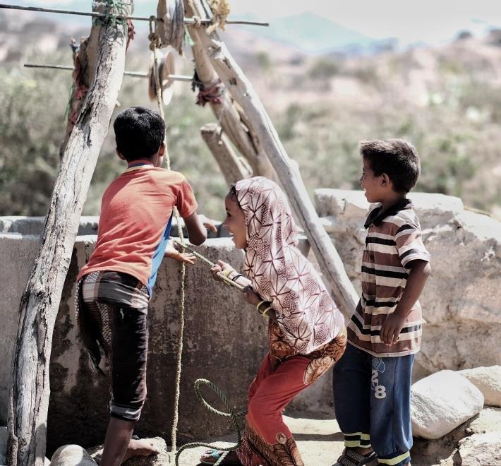 yemen puits enfants
