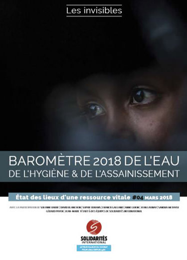 barometre de l'eau de l'hygiene et de l'assainissement 2018 SOLIDARITES INTERNATIONAL