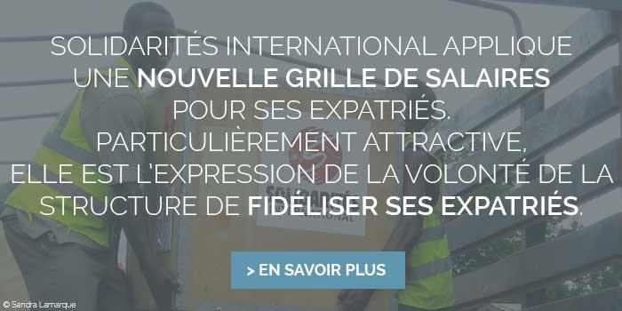 salaires expatriés solidarités international