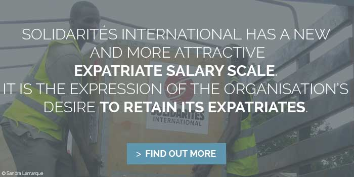 expatriate salary solidarites international