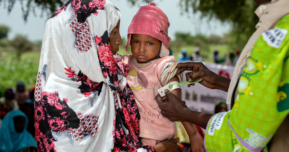 tchad malnutrition infantile