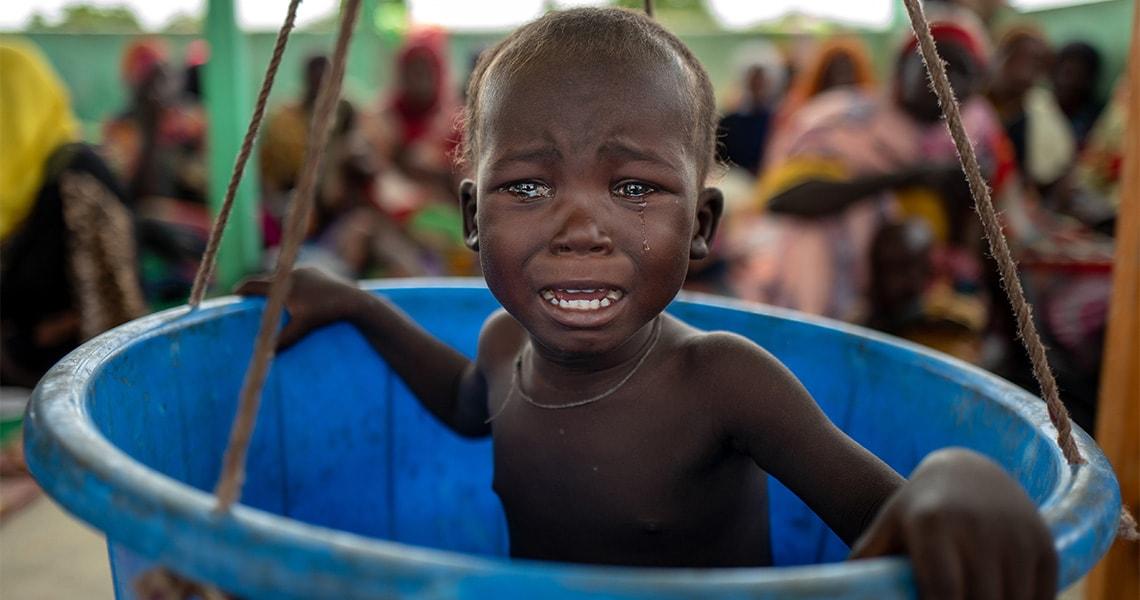 tchad enfant malnutrition