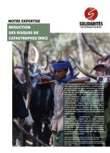 réduction des risques de catastrophes RRC publication
