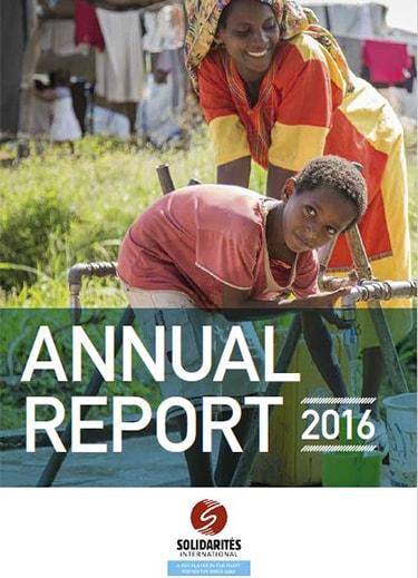 annual report 2016 solidarites international