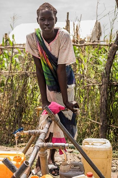 eau potable soudan du sud